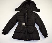 Детско зимно яке - MEGAN - черно за 10 годишни