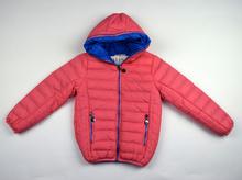 Детско пролетно яке - PINK AND LIGHT BLUE - розово със светло синя подплата за 10 и 12 годишни