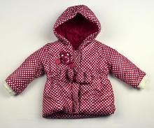 Модно зимно яке - ZOE - розово от 1 до 4 годишни