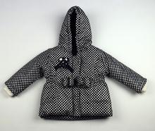 Модно зимно яке - ZOE - тъмно синьо от 1 до 4 годишни