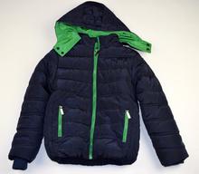 Детско зимно яке - JACKSON - тъмно синьо за 8 годишни