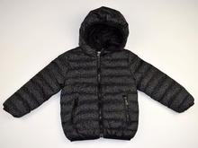Пролетно - есенно детско яке - STARS - черно за 4 и 10 годишни