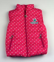 Топла спортна грейка - PINK - розова на бели точки за 3 и 4 годишни