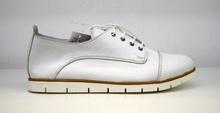 Стилни дамски обувки ЕСТЕСТВЕНА КОЖА БЪЛГАРСКО ПРОИЗВОДСТВО - бели