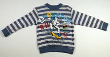 Памучна блузка с дълъг ръкав за момче - ADVANCED - синя за 5 годишни