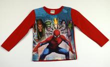 Детска блуза с дълъг ръкав за момче - KIDS CLUB - червена за 2 годишни