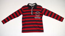 Детска блуза с дълъг ръкав за момче - BRADY - червена за 8-9 годишни