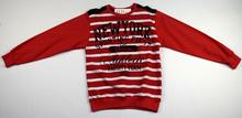 Юношеска блуза с дълъг ръкав за момчета - NEW YORK - червена за 10-11 и 14 годишни