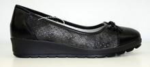 Комфортни дамски обувки на платформа НОВ МОДЕЛ - ADRENALIJNA - черни с перфорация