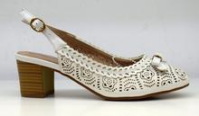 Дамски обувки тип сандали - ALDORA - бели