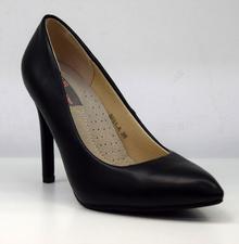 Елегантни дамски обувки на висок ток - BETTY- черни