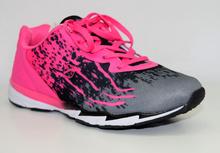 Страхотни дамски маратонки - BRILANE - розово и сиво