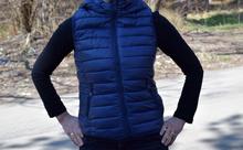 Спортна дамска грейка  - CAMELLA - тъмно синя