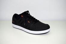 Мъжки спортни обувки - ANTONIO - черни/кожа и неопрен