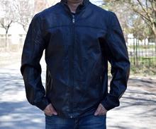 Мъжко кожено яке - JONATHAN - от 3 XL до 6XL
