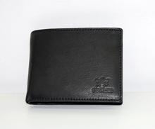 Мъжки портфейл ЕСТЕСТВЕНА КОЖА- черен