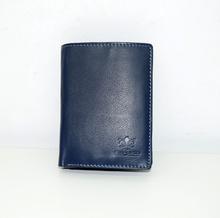 Мъжки портфейл ЕСТЕСТВЕНА КОЖА - BIG BOSS - тъмно син