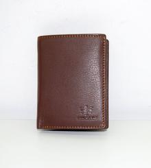Мъжки портфейл ЕСТЕСТВЕНА КОЖА - BIG BOSS - светло кафяв