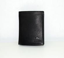 Мъжки портфейл ЕСТЕСТВЕНА КОЖА - BIG BOSS - черен
