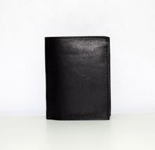 Мъжки портфейл ЕСТЕСТВЕНА КОЖА - MICHAE - черен