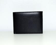 Мъжки портфейл ЕСТЕСТВЕНА КОЖА - NICHOLAS - черен