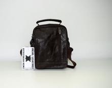 Мъжка чанта ЕСТЕСТВЕНА КОЖА -RYAN - кафява
