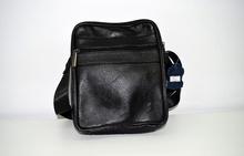 Мъжка бизнес чанта ЕСТЕСТВЕНА КОЖА - ANTHONY - черна