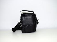 Мъжка бизнес чанта ЕСТЕСТВЕНА КОЖА - JAMES - черна