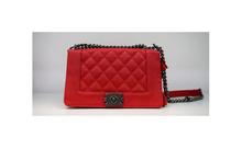 Модна дамска чанта  - MONY - червена