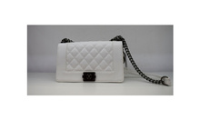 Модна дамска чанта - MONY - бяла