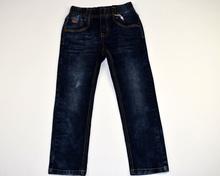 Модни дънки за момчета - SEAN - тъмно сини за 6 и 10 годишни