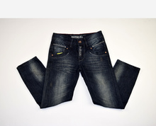 Модни дънки за момчета - CODY - тъмно сини