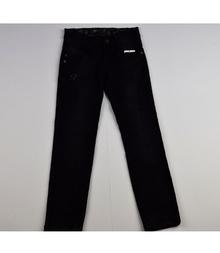 Модни дънки за момиче - ALESA - черни за 8 години