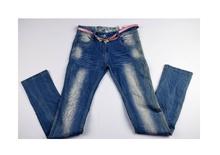 Модни юношески дънки за момичета - ALYX - светло сини за 16 годишни