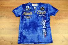 Мъжка тениска - MONTE CARLO - синя