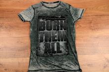 Мъжка тениска - BLAKE - тъмно зелена