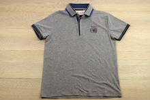 Модна мъжка тениска - FERN ISLAND - в сиво, в тъмно синьо и в бяло