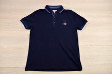 Мъжка тениска - FERN ISLAND - тъмно синя