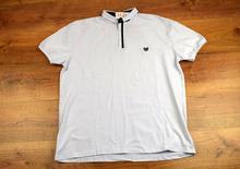 Страхотна мъжка тениска - EVAN - бяла до 6 XL