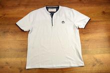 Модна мъжка тениска- LUKE - бяла 3XL