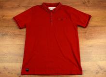 Мъжка тениска- CODY - червена до 4XL