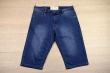 Класически мъжки къси дънки - JACKSON - сини/ големи размери