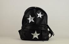 Комфортна дамска раница - STAR - черна