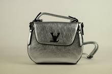 Страхотна дамска чанта - AVA - сребриста