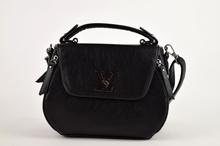 Страхотна дамска чанта - AVA - черна