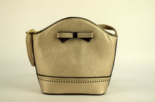 Малка дамска чанта - LILY - златиста