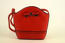 Малка дамска чанта - LILY - червена