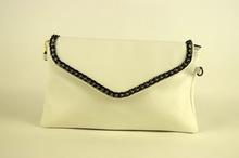 Официална дамска чанта - бяла