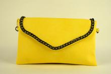 Официална дамска чанта - жълта