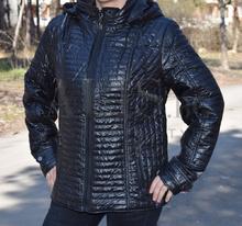 Дамско пролетно яке - ALEXI - черно  от 48 до 56 размер
